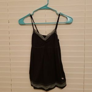 Abercrombie Lace trimmed tank top